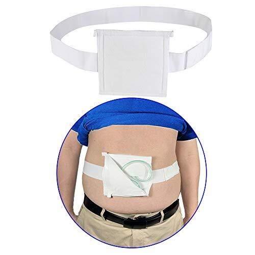 La alimentación por sonda G Cinturón Tubos sujetador de catéter de diálisis peritoneal gastrostomía Peg Tube Supplies cubierta de la bolsa de drenaje abdominal Fijación Médico Enfermería de ci