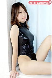 ハイネックレオタード(後ファスナー) 色:黒 サイズ:BIG