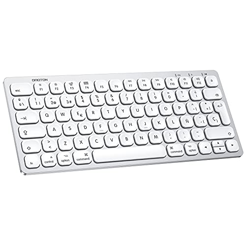 Teclado Inalambrico para Mac OS (Macbook, Mac Mini, iMac, Mac Pro), Teclado...