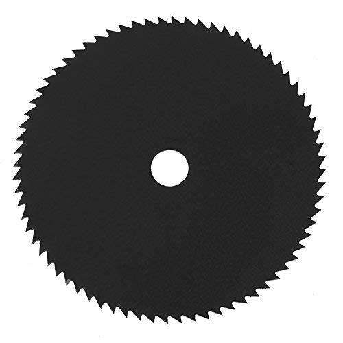 Hoja de sierra circular 72T, disco de corte de metal afilado HSS, diámetro exterior de 85 mm Diámetro interior de 10 mm Hoja de corte de metal para cortar cemento / tubería de PVC / madera / plástico