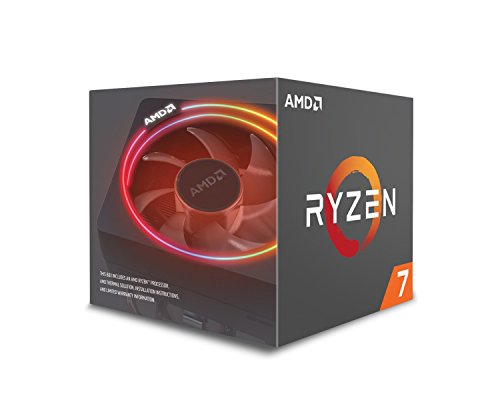 AMD YD270XBGAFBOX Processore per Desktop PC, Ryzen 7 2700X, 3.7GHz, Socket AM4, Argento