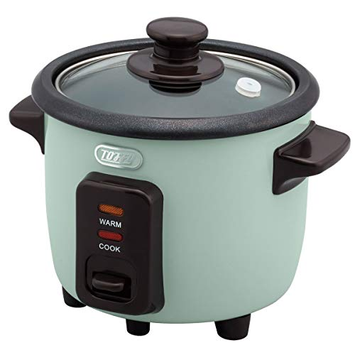 ぼん家具 一合炊き ミニ炊飯器 レトロ 小型炊飯器 ライスクッカー おしゃれ ペールアクア