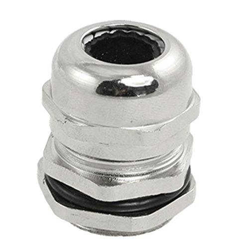 Edelstahl 8,0–12,0mm PG13,5Wasserdicht Kabelverschraubung Anschluss de