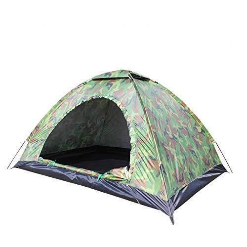 thematys Outdoorzelt leichtes Zelt Camping Festival mit Tragetasche im Camouflage Stil (2m x 2m x 1,4 m)