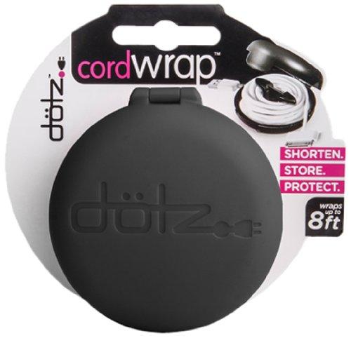 Dotz Cord Wraps, set of 3. (2-Black, 1 White) (CWOS30M-C)