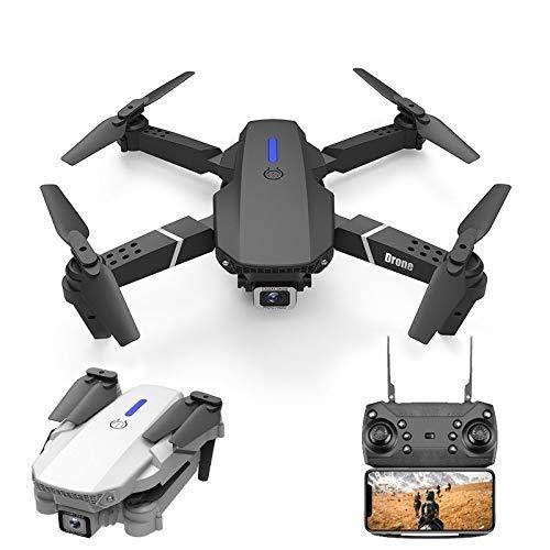 SuRose Drone, Drone con GPS 4K 5G WiFi 2 Ejes Gimbal Cámara Dual Profesional ESC 50X Zoom sin escobillas Quadcopter RC Dron (Color: 2 Ejes con Bolsa 1B)