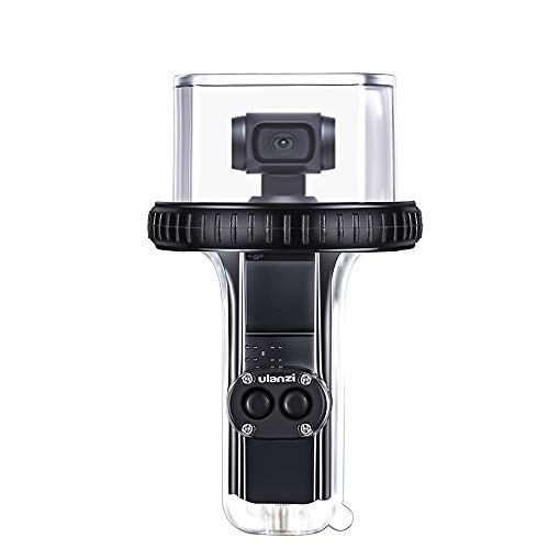 Sutefoto OP-10 60 Meter Unterwassergehäuse Diving Shell Housing Kompatibel für DJI OSMO Pocket Gimbal
