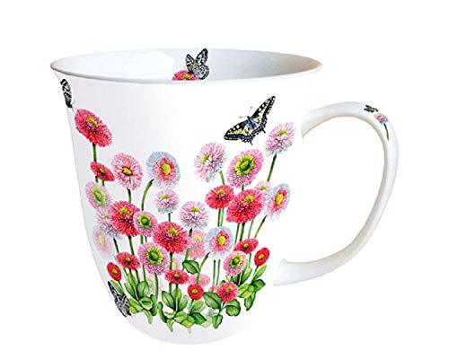 Ambient Fine China Blumenbecher mit Schmetterling 0,4 Liter Bellis