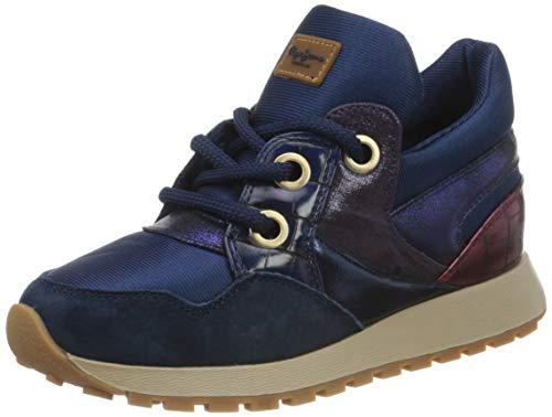 Pepe Jeans London Dean Shion, Zapatillas Mujer, 598 Océano Oscuro, 36 EU