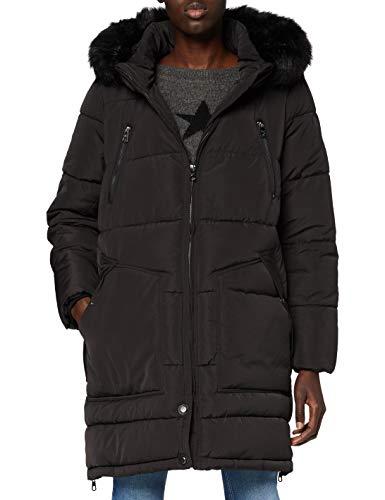 ONLY Carmakoma CARRHODA Winter Coat OTW Abrigo, Negro, M para Mujer