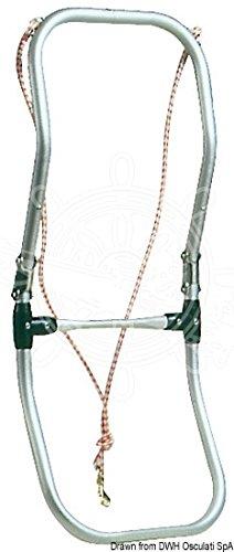 OSCULATI Scaletta per gommoni snodata 2 gradini