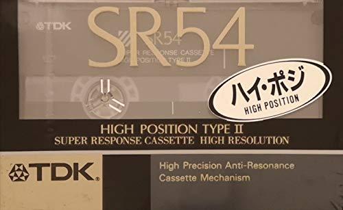 TDK カセットテープ ハイポジション SR54 デジタル対応 54分 ...