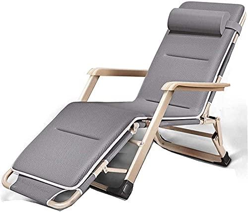 Patio Lounger Silla cero gravedad reclinable silla tumbona tumbona reclinable, cero silla de gravedad patio tumbonas sillones reclinadores reguladores de ángulo ajustable para jardín sillas plegables-