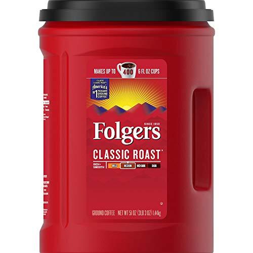 Folgers Classic Roast Ground Coffee 51 oz