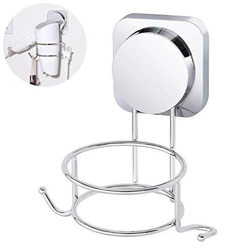 WELTRXE Haaretrocknerhater Bad Badezimmer F/ön F/önhalter F/önhalterung Haartrockner Haartrocknerhalterung Halter Halterung Wand WC