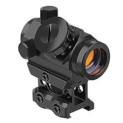 commercial Feyachi Red Dot Visor 4MOA Micro Red Dot Visor Rifle Scope with 1 inch Holder nerf rival scope