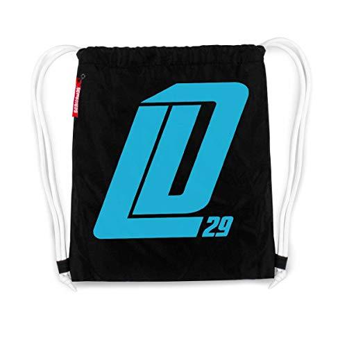 Scallywag® Eishockey Tasche Leon Draisaitl Dickes LD29 I A BRAYCE® Collaboration (Gymsack von NHL Edmonton Oilers Star LD29)