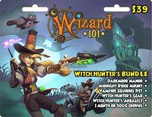 Wizard 101 Witch Hunter S Bundle Prepaid Buy Online In Canada At Desertcart