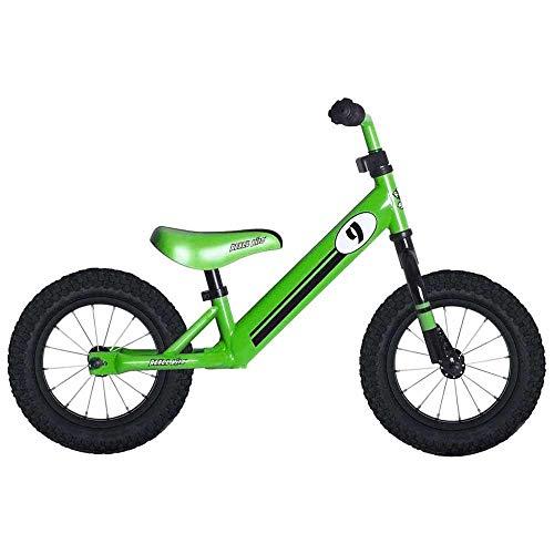 Rebel Kidz - Bicicleta de Aprendizaje Infantil, Unisex, Color Verde, Talla única