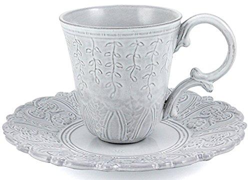 Faiencerie de Niderviller Grand Siècle Tasse für Kaffee und Tee weiss