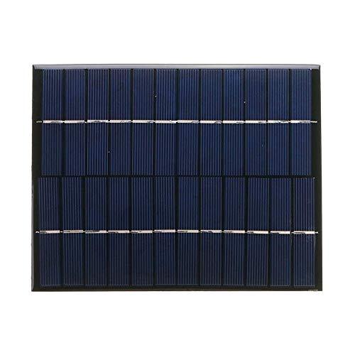 BINGFANG-W Herramientas Panel de 12V 5.2W Mini Polcrstalline Solar Epox Junta de Tratamiento de la Madera Tablero del Amplificador