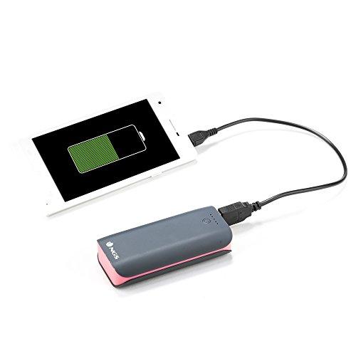 NGS Powerpump 4400 Duo - Batería portátil para tablets y smartphones