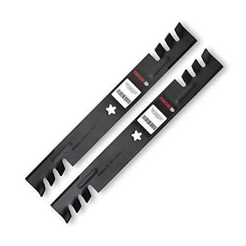 """Phoenix Mfg. Set of 2 (Two) Replacement Lawn Mower Blades for 42"""" Cut. Replacement for Craftsman, Husqvarna, Poulan 134149, 138971, 138498, 127843, PP24003, and More!"""