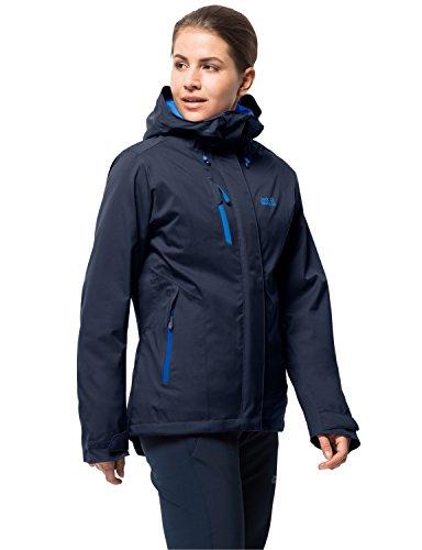 Jack Wolfskin Troposphere Women, zeer warme winterjas voor dames, water- en winddichte outdoor jas voor dames, windbreaker voor dames met ventilatieritsen