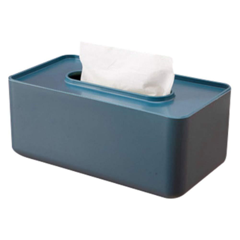 Yalatan Caja de Papel higiénico, Caja Rectangular de pañuelos ...
