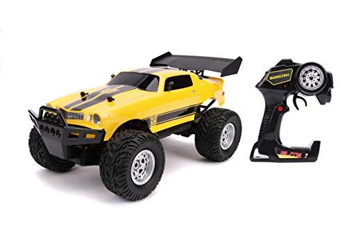 Jada Toys Transformers Bumblebee 1977 Chevy Camaro Elite Off Road 4x4 RC