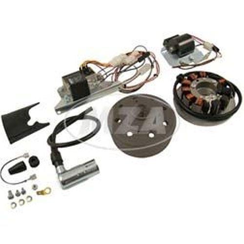 SET Umrüstsatz VAPE (M-G) S50, S51, S70 auf 12V 35/35W (ohne Batterie, Hupe und Leuchtmittel)