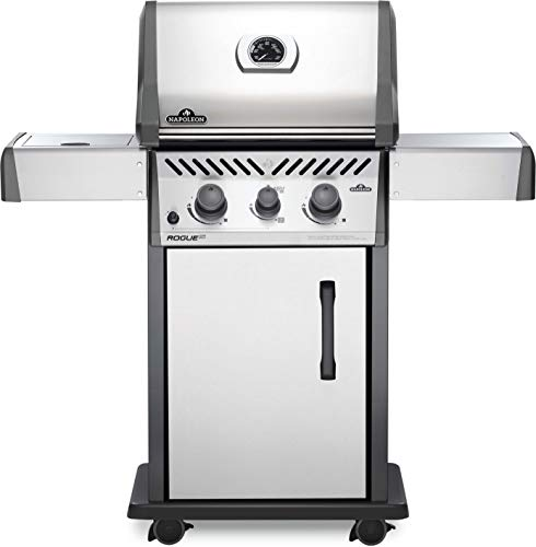 Napoleon RXT365SIBPSS-1 Rogue XT 365 SIB Gas Grill, sq. in + Infrared Side Burner, Stainless Steel