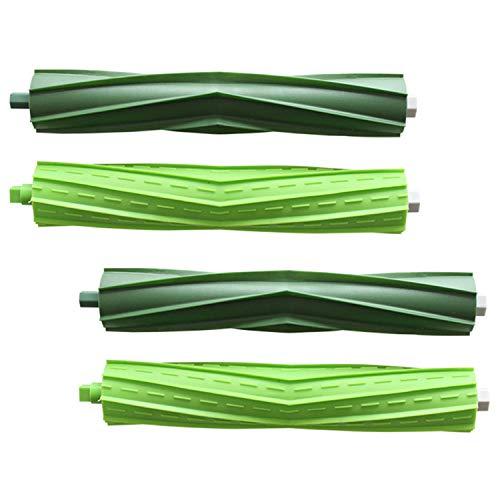 4pcs Rouleau en Caoutchouc brosses pièces de Rechange compatibles avec iRobot Roomba i7 + E5 E6 aspirateur Accessoires