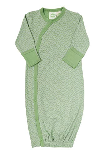Product Image of the PARADE Kimono Gowns - Signature Prints Green Leaves 3-6 Months