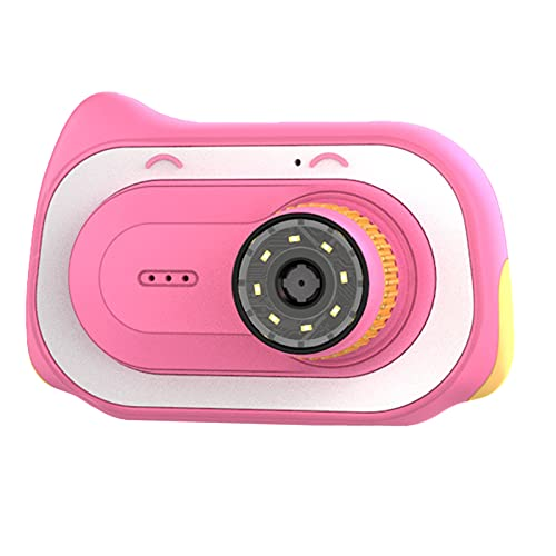 OhhGo Cámara grabadora de vídeo con función de microscopio Cámara electrónica recargable con 2 pulgadas pantalla de juguete para cumpleaños