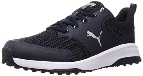 Puma 194542, Zapatos de Golf Hombre, Armada Blazer Plata, 42 EU