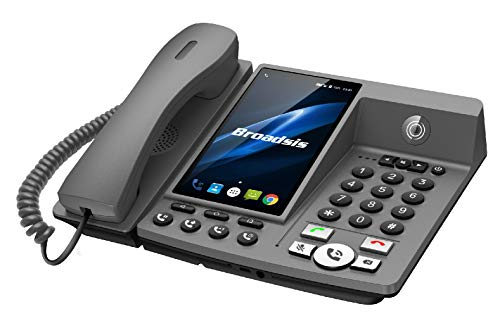 Telefon IP-Android 4G-Kompatibel mit Skype, Whatsapp, Zoom-Easy Call System