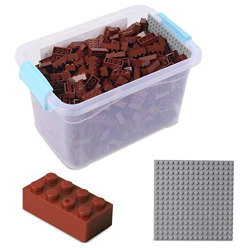 Fichas Lego Marron Marca Katara