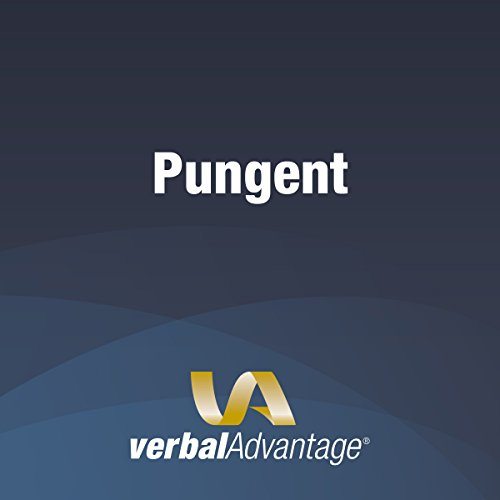 Word of the Day: Pungent cover art