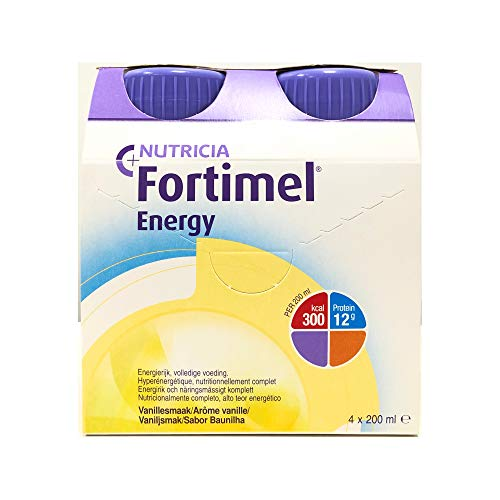 Fortimel Energy Baunilha 200 ml x 4