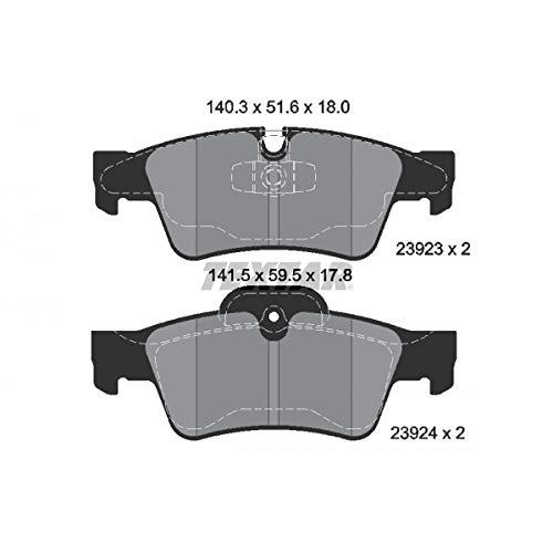 Scheibenbremse Textar 2193702 Bremsbelagsatz