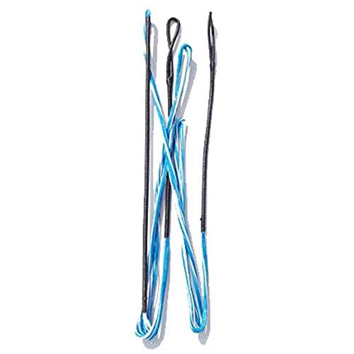 """ZSHJG Cuerda De Arco Hecha a Mano 16 Hilos De Cuerda para Arco Largo De 60-62 Pulgadas Recurva (azul1, 60""""/144cm)"""