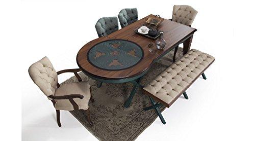Green Eßzimmer-Set Essgruppe