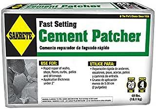 SAKRETE   Fast Setting Cement Patcher   40 lb