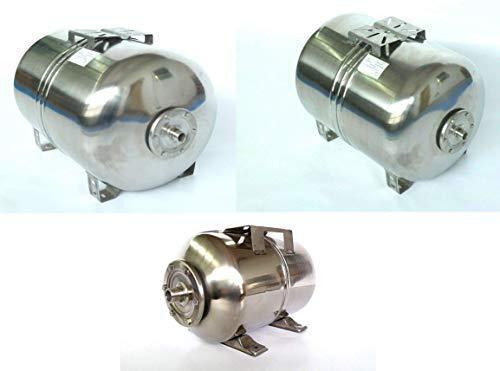 Druckkessel in verschiedenen Größen 50, 80 u. 100 Liter, Ausdehnungsgefäß Membrankessel Hauswasserwerk. Druck: Max. Druck 8 Bar. (50 Liter INOX)