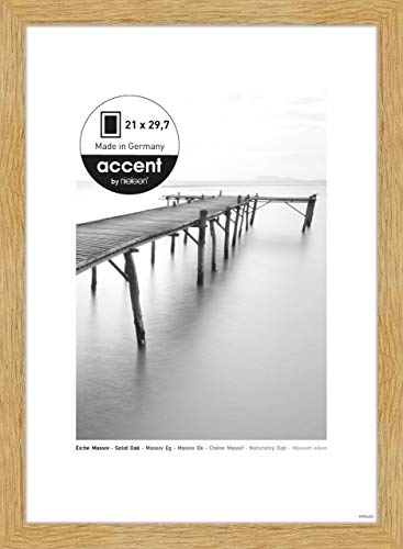 Nielsen Accent Holz Bilderrahmen Scandic, 21x29,7 cm (A4), Eiche