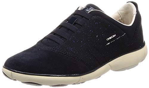 Geox Damen D Nebula C Sneaker, Blau, 36 EU