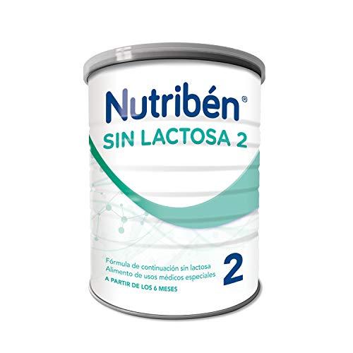 Nutribén - Leche Infantil Sin Lactosa 2 desde los 6 meses - 400 gr.