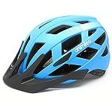 ANIMILES Bike Helmets for Adults with Light, Cool & Sleek Cycling Helmet Lightweight Bike Helmet for Urban Commuter Adjustable Size for Adult Men/Women