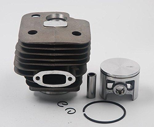 Ruche filtre cylindrique pour assemblage de piston pour Husqvarna Modèle 268 (50 mm) tronçonneuse Remplace 503–611071